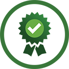 Committed To Doing Things The Right Way icon graphic