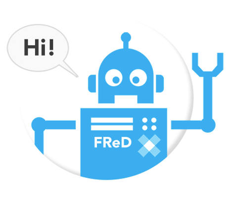 FReD bot graphic