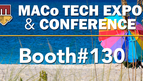 Visit us at Booth#130 at the MACo Tech Expo and Conference