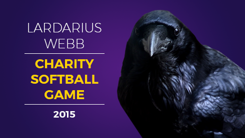 The Lardarius Webb Foundation and the Baltimore Ravens at 6th annual charity softball game