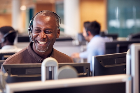 Empowering call center employees to execute tasks and improve staff retention